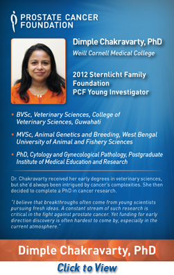 Young Investigator Award-Class of 2012 | Prostate Cancer