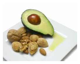 avocado is a source of healthy fats that may lower men's risk of aggressive prostate cancer, whereas fish oils may increase men's risk of developing the disease
